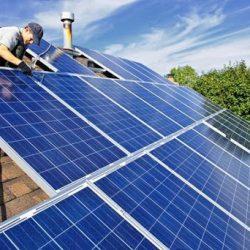 Instalación de placa fotovoltaica aislada