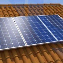 placa fotovoltaica de autoconsumo conectada a red
