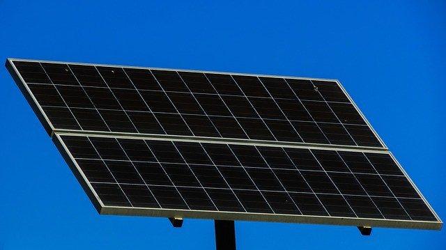 imagen de un panel solar